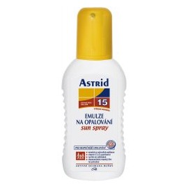 Astrid Sprej emulzia OF15, 200ml