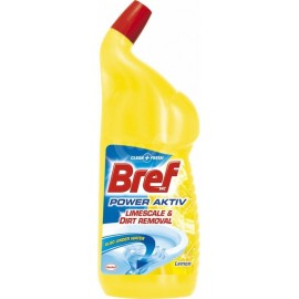 Bref WC čistič Power gel Citrus 750 ml