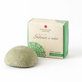 Henna a škorica (tuhý šampón) 60g- Indian Natural Hair Care