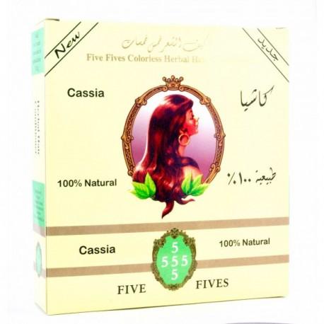 Cassia 100g bezfarebný zábal - Five Fives