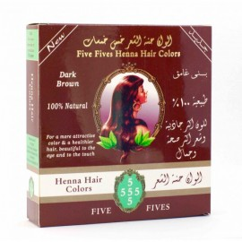 Tmavo hnedá Henna 100g - Five Fives