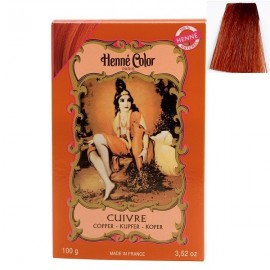 Cuivré Henna Powder, Henné Color 100 g - Medená