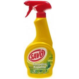 Savo Kúpeľňa glanc – tekutý čistič s rozprašovačom 500 ml