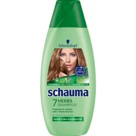 Schauma 7 Bylín - šampón na normálne a mastné vlasy 400 ml