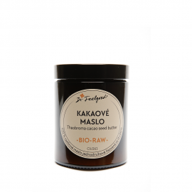 Kakaové maslo BIO RAW 180ml - Dr.Feelgood