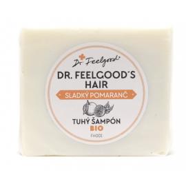 BIO Tuhý šampón na všetky typy vlasov Pomaranč 100g- Dr.Feelgood
