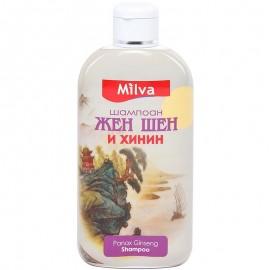Ženšen a Chinín Šampón 200ml - Milva