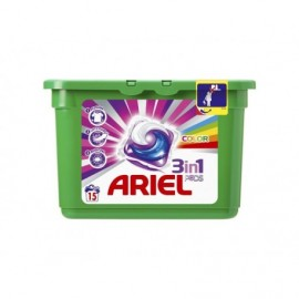 Ariel Active gel Color - Gélové pracie kapsule 15 ks