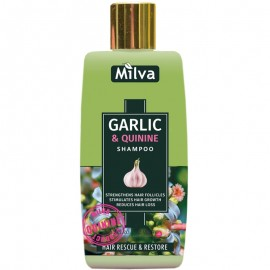 Šampón s extraktom cesnaku a chinínu 200ml - Milva