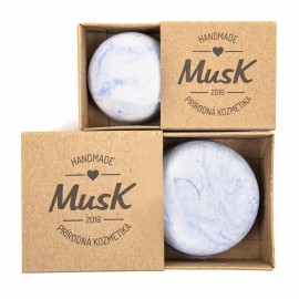 Pánsky tuhý šampón na podporu rastu vlasov KAPITÁN 80g- Musk