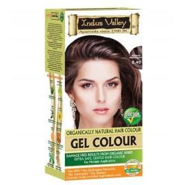 Gélová farba na vlasy s Hennou Mahagónová 5.4 - Indus Valley