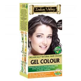 Gélová farba na vlasy s Hennou Svetlohnedá 5.0 - Indus Valley