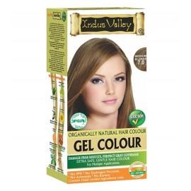 Gélová farba na vlasy s Hennou Stredná Blond 7.0 - Indus Valley