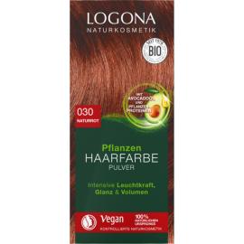 Prášková Henna na vlasy Červená 100g - Logona