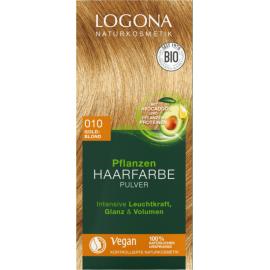 Prášková Henna na vlasy Zlatá blond 100g - Logona