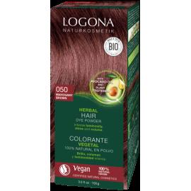 Prášková Henna na vlasy Mahagónová 100g - Logona