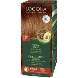 Prášková Henna na vlasy ohnivočervená 100g - Logona
