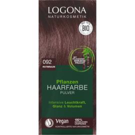 Prášková Henna na vlasy Červeno hnedá 100g - Logona