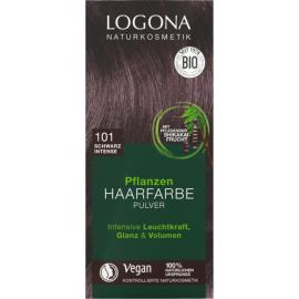 Prášková Henna na vlasy Čierna 100g - Logona