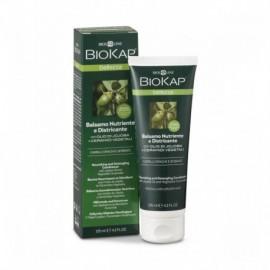 Výživný balzam na suché a poškodené vlasy 125 ml - Biokap Bellezza