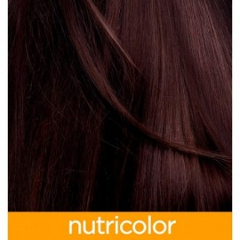 Nutricolor farba na vlasy - Gaštanová hnedá 4.4 140ml - Biokap