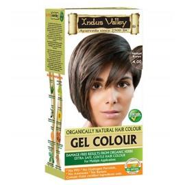 Gélová farba na vlasy s Hennou hnedá 4.0 - Indus Valley
