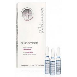 Skineffect super hyaluron koncentrát 4xkyselina hyaluronová 7x2ml -Wellmaxx