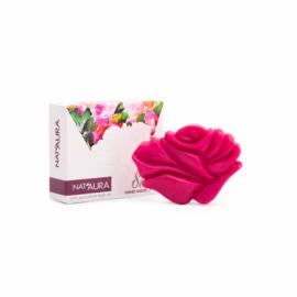 Mydlo s ružovým olejom 80g - Nat´aura
