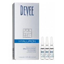Hyaluron Efekt ampulky pre okamžitý účinok 7x2ml- Devee