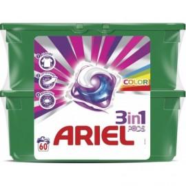 Ariel Gélové pracie kapsule Color 60 ks