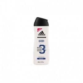 Adidas 3 Active Hydra Sport 3v1 Men sprchový gél 250 ml