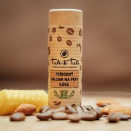 Prírodný balzam na pery Káva 20ml - Ťuli a Ťuli