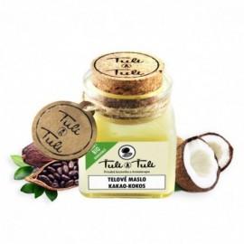Prírodné telové maslo kakao-kokos 100ml - Ťuli a Ťuli