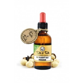 BIO vlasový olej Makadam 50ml - Ťuli a Ťuli