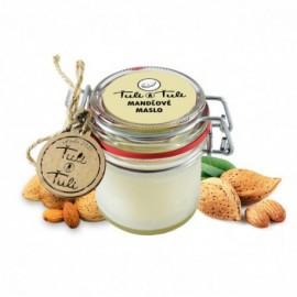 Prírodné Mandľové Maslo 170ml - Ťuli a Ťuli