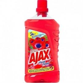 AJAX Floral Fiesta Red Flowers univerzálny čistiaci prostriedok 1L