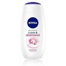 Nivea Care and Diamond sprchový gél 250 ml