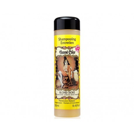 Blond Doré, prírod. šampón z henny, farba Zlatá Blond , 250 ml