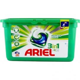 Ariel Active gel Mountain Spring - Gélové pracie kapsule 38 ks