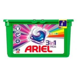 Ariel Active gel Color & Style - Gélové pracie kapsule 38 ks