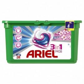 Ariel Active gél Touch of Lenor fresh - Gélové pracie kapsule 38 ks